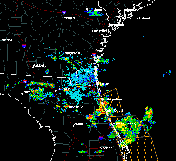 Radar Image for Severe Thunderstorms near St. Augustine, FL at 5/27/2020 3:01 PM EDT