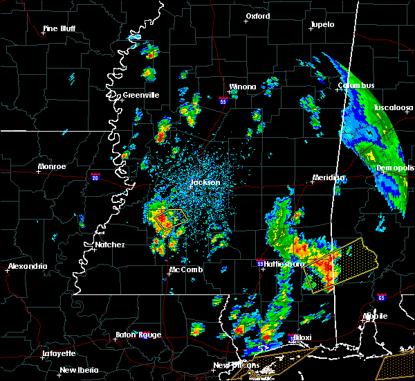 Radar Image for Severe Thunderstorms near Crystal Springs, MS at 5/27/2020 2:25 PM CDT