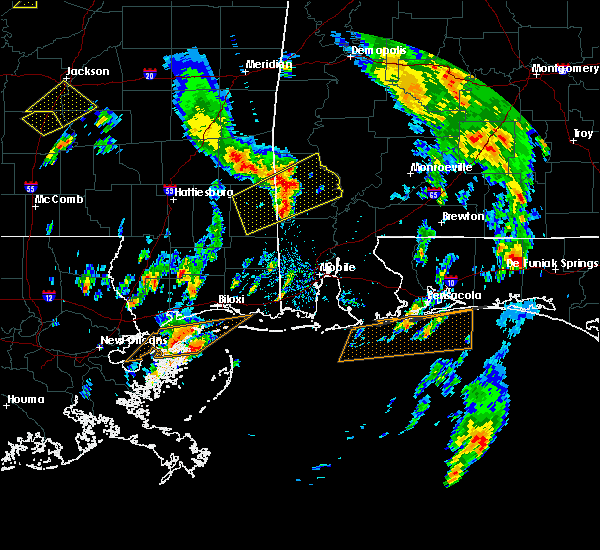 Radar Image for Severe Thunderstorms near Fruitdale, AL at 5/27/2020 2:48 PM CDT