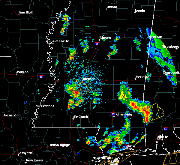 Radar Image for Severe Thunderstorms near Crystal Springs, MS at 5/27/2020 2:48 PM CDT