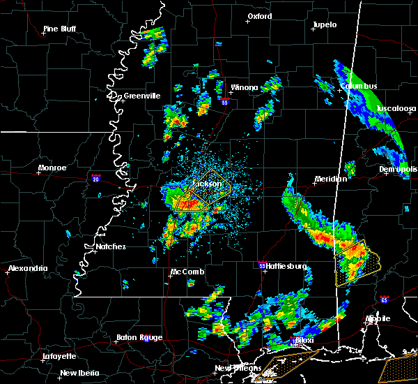 Radar Image for Severe Thunderstorms near Flowood, MS at 5/27/2020 3:09 PM CDT
