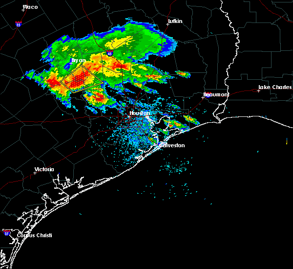 Radar Image for Severe Thunderstorms near Conroe, TX at 5/27/2020 3:11 PM CDT