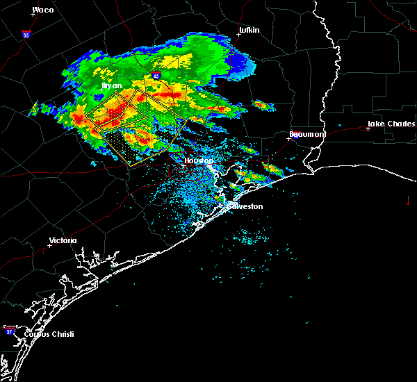 Radar Image for Severe Thunderstorms near Houston, TX at 5/27/2020 3:24 PM CDT