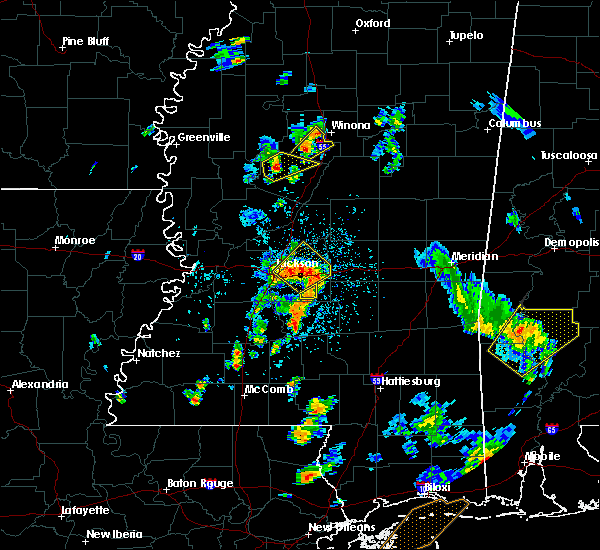 Radar Image for Severe Thunderstorms near Flowood, MS at 5/27/2020 3:41 PM CDT