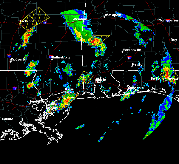 Radar Image for Severe Thunderstorms near Thomasville, AL at 5/27/2020 3:43 PM CDT