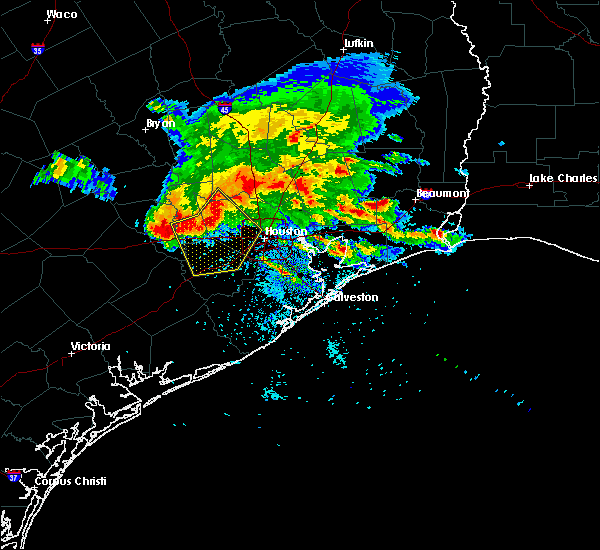 Radar Image for Severe Thunderstorms near Conroe, TX at 5/27/2020 4:09 PM CDT