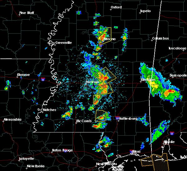 Radar Image for Severe Thunderstorms near Polkville, MS at 5/27/2020 4:24 PM CDT