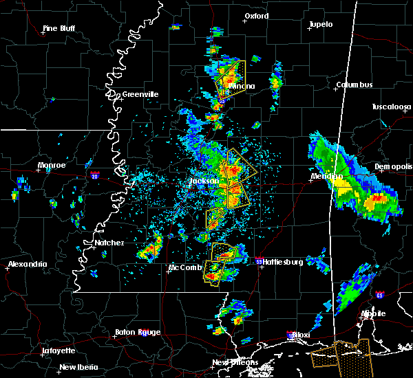 Radar Image for Severe Thunderstorms near Pearl River, MS at 5/27/2020 4:31 PM CDT