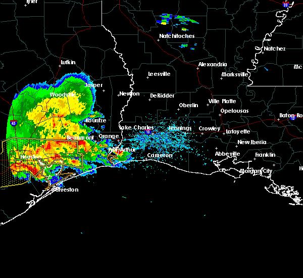 Radar Image for Severe Thunderstorms near Hackberry, LA at 5/27/2020 4:40 PM CDT