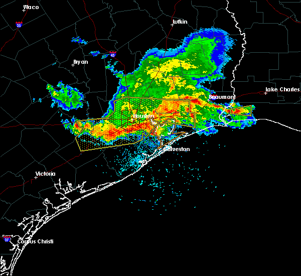 Radar Image for Severe Thunderstorms near Beach City, TX at 5/27/2020 4:53 PM CDT