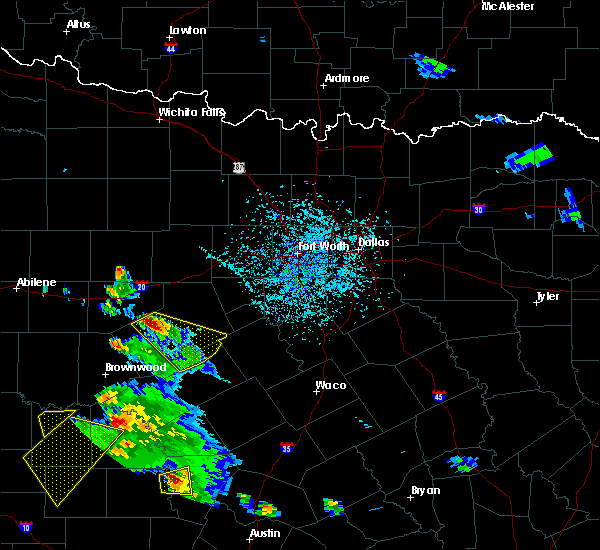 Radar Image for Severe Thunderstorms near Dublin, TX at 5/27/2020 5:24 PM CDT