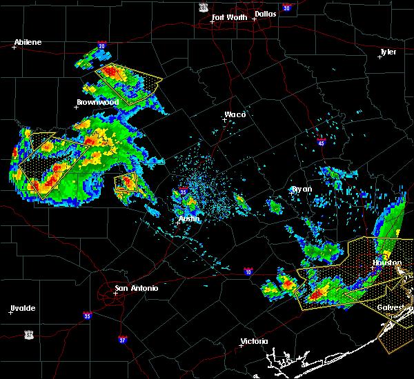 Radar Image for Severe Thunderstorms near San Saba, TX at 5/27/2020 5:31 PM CDT