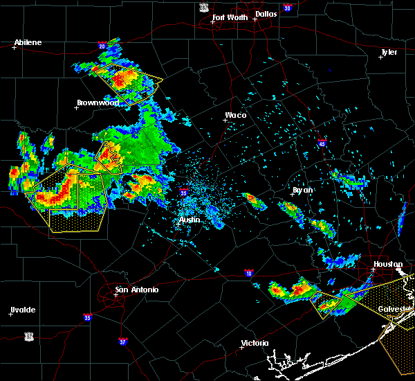 Radar Image for Severe Thunderstorms near Granite Shoals, TX at 5/27/2020 5:56 PM CDT