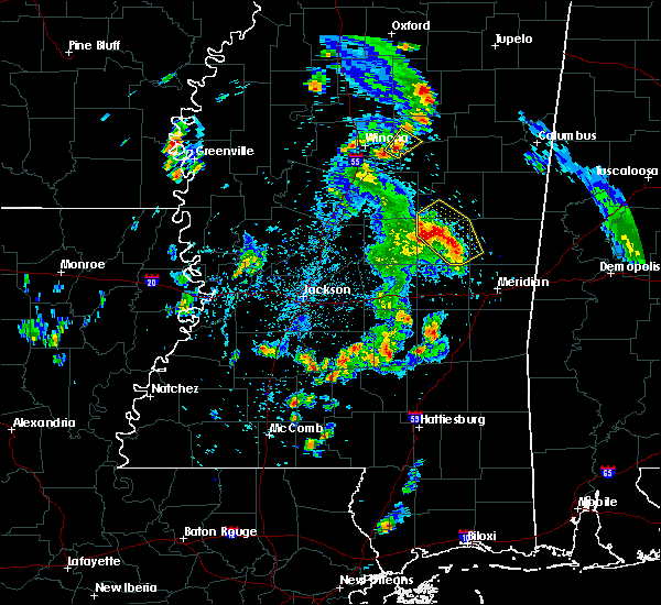 Radar Image for Severe Thunderstorms near Pearl River, MS at 5/27/2020 5:59 PM CDT