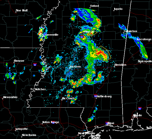 Radar Image for Severe Thunderstorms near Pearl River, MS at 5/27/2020 6:08 PM CDT