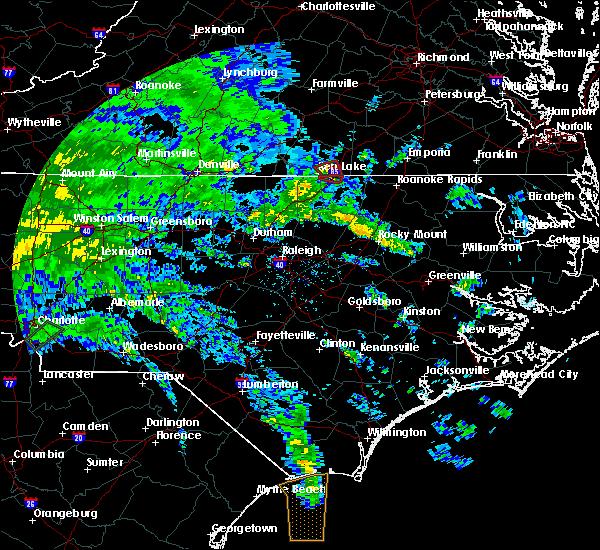 Radar Image for Severe Thunderstorms near Bracey, VA at 5/27/2020 7:15 PM EDT
