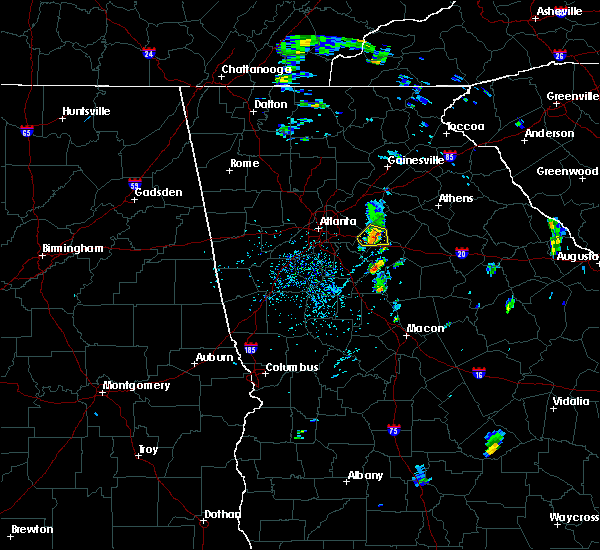 Radar Image for Severe Thunderstorms near Oxford, GA at 5/28/2020 1:35 PM EDT