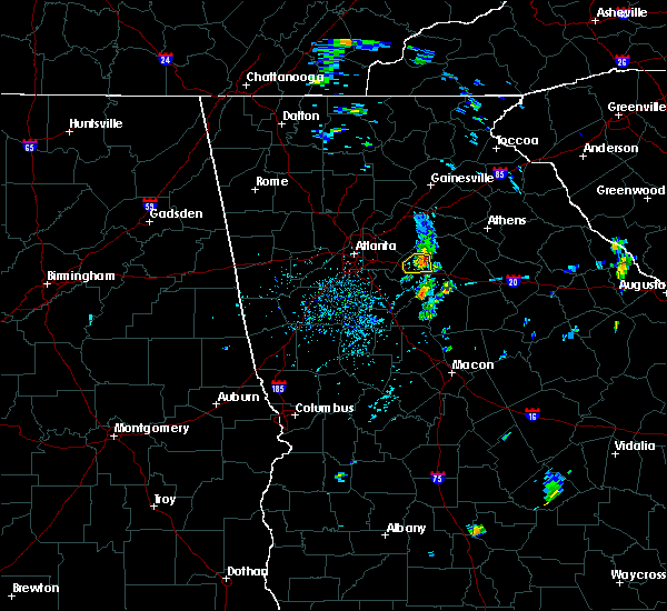Radar Image for Severe Thunderstorms near Oxford, GA at 5/28/2020 1:48 PM EDT