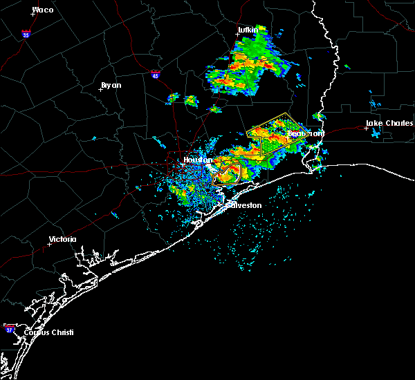 Radar Image for Severe Thunderstorms near Beach City, TX at 5/28/2020 12:52 PM CDT