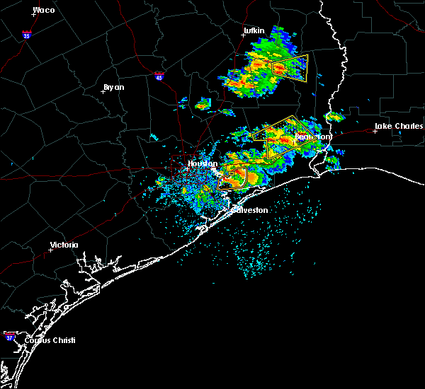 Radar Image for Severe Thunderstorms near Beach City, TX at 5/28/2020 1:05 PM CDT