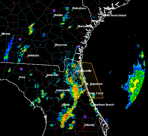 Radar Image for Severe Thunderstorms near Fruit Cove, FL at 5/28/2020 2:56 PM EDT