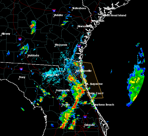 Radar Image for Severe Thunderstorms near Flagler Estates, FL at 5/28/2020 3:17 PM EDT