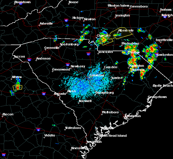Radar Image for Severe Thunderstorms near Norwood, NC at 5/28/2020 3:37 PM EDT