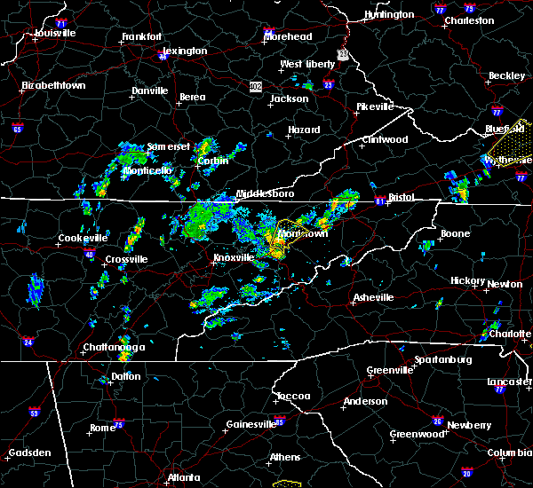 Radar Image for Severe Thunderstorms near Morristown, TN at 5/28/2020 3:40 PM EDT
