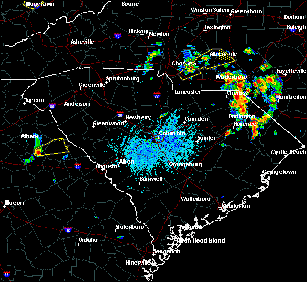 Radar Image for Severe Thunderstorms near Norwood, NC at 5/28/2020 3:57 PM EDT