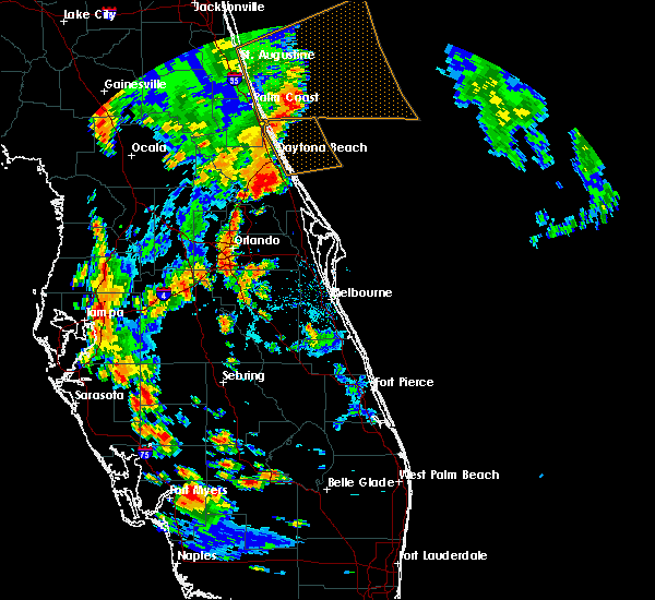 Radar Image for Severe Thunderstorms near Orange City, FL at 5/28/2020 4:59 PM EDT