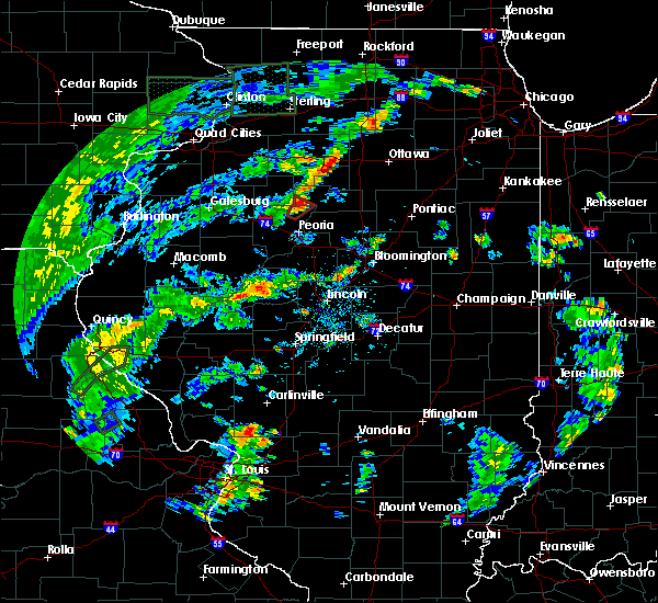 Radar Image for Severe Thunderstorms near Hopewell, IL at 5/28/2020 5:01 PM CDT
