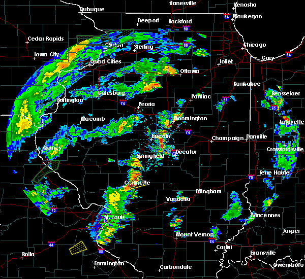 Radar Image for Severe Thunderstorms near Raymond, IL at 5/28/2020 5:53 PM CDT