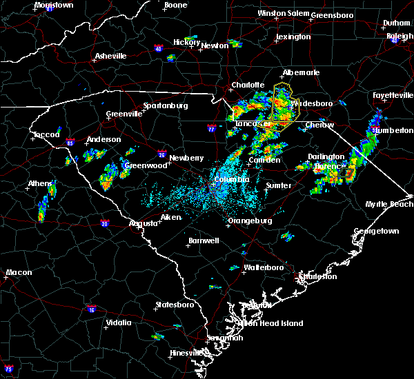 Radar Image for Severe Thunderstorms near Norwood, NC at 5/28/2020 6:53 PM EDT