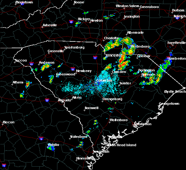Radar Image for Severe Thunderstorms near Norwood, NC at 5/28/2020 7:12 PM EDT
