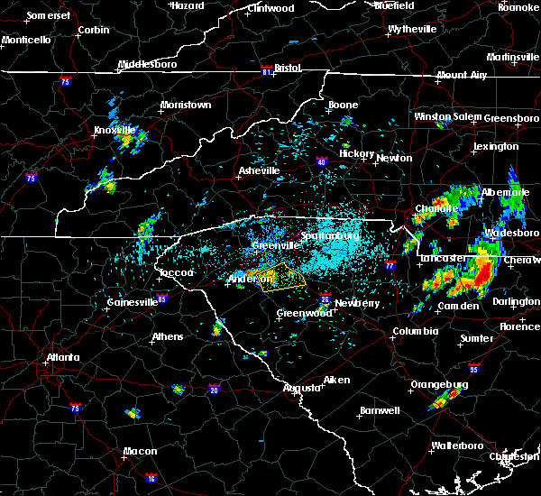 Radar Image for Severe Thunderstorms near Concord, NC at 5/28/2020 7:58 PM EDT