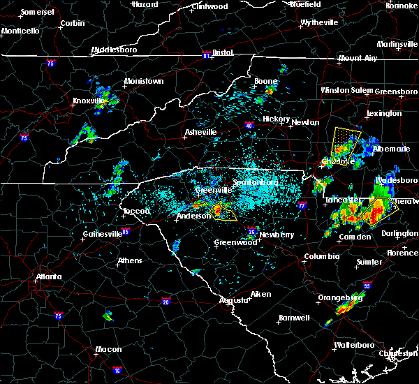 Radar Image for Severe Thunderstorms near Concord, NC at 5/28/2020 8:14 PM EDT
