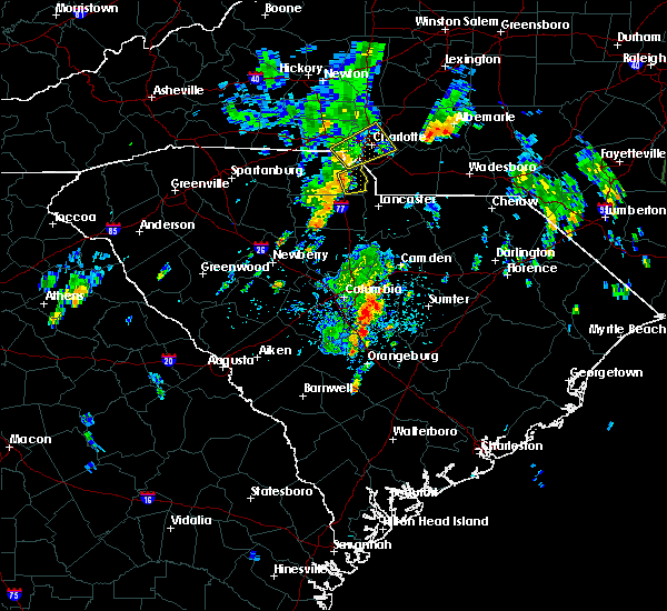 Radar Image for Severe Thunderstorms near Waxhaw, NC at 5/29/2020 11:57 AM EDT