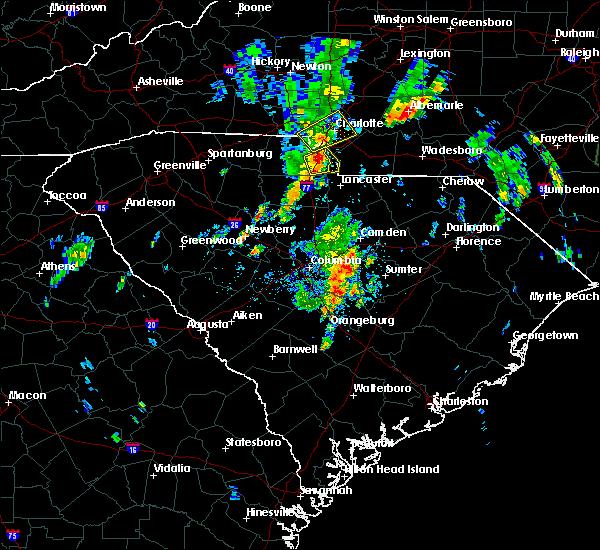 Radar Image for Severe Thunderstorms near Lesslie, SC at 5/29/2020 12:03 PM EDT