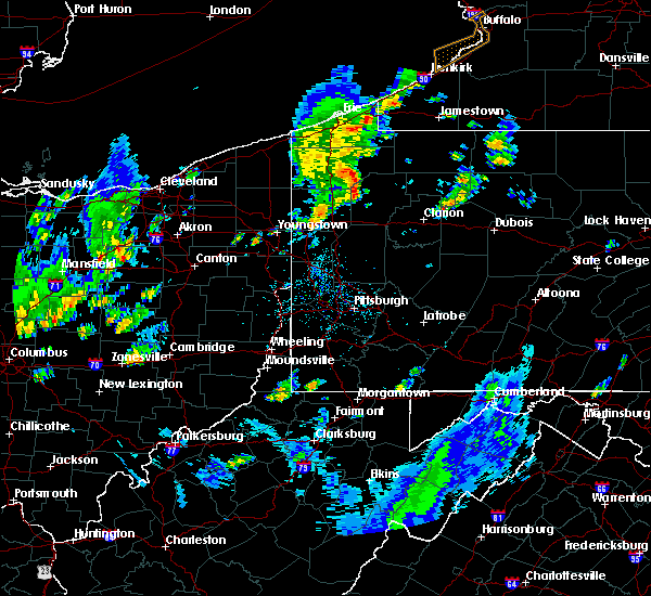 Radar Image for Severe Thunderstorms near Titusville, PA at 5/29/2020 12:27 PM EDT