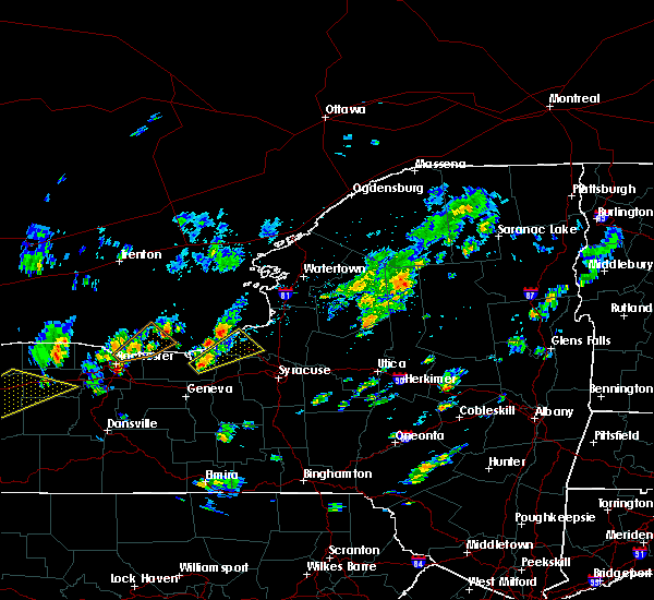 Radar Image for Severe Thunderstorms near Clyde, NY at 5/29/2020 12:58 PM EDT