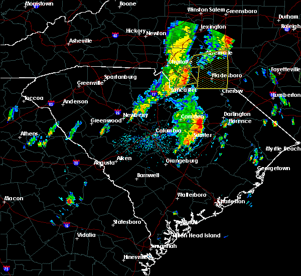 Radar Image for Severe Thunderstorms near Lydia, SC at 5/29/2020 12:57 PM EDT