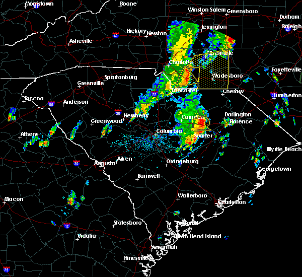 Radar Image for Severe Thunderstorms near Wingate, NC at 5/29/2020 1:01 PM EDT