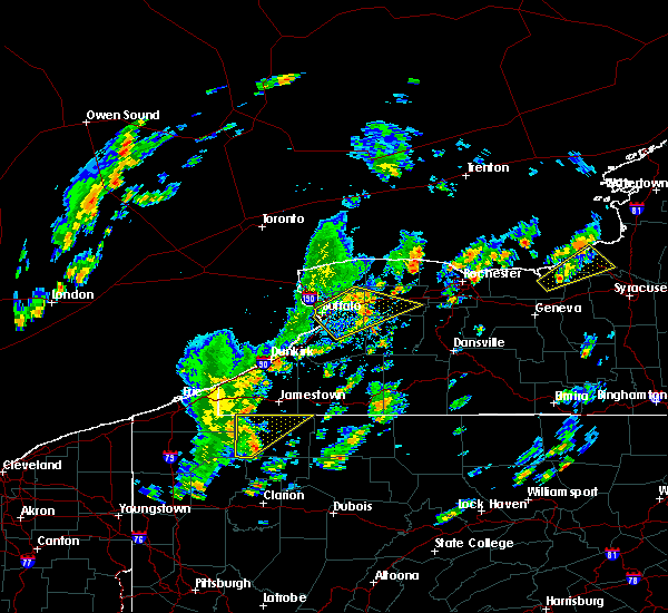 Radar Image for Severe Thunderstorms near Le Roy, NY at 5/29/2020 1:09 PM EDT