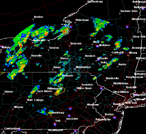 Radar Image for Severe Thunderstorms near Iola, PA at 5/29/2020 1:42 PM EDT