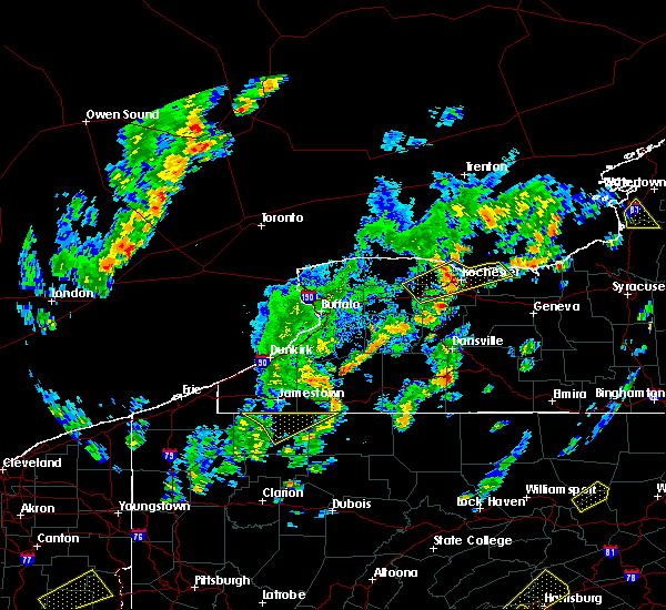 Radar Image for Severe Thunderstorms near Greece, NY at 5/29/2020 2:07 PM EDT
