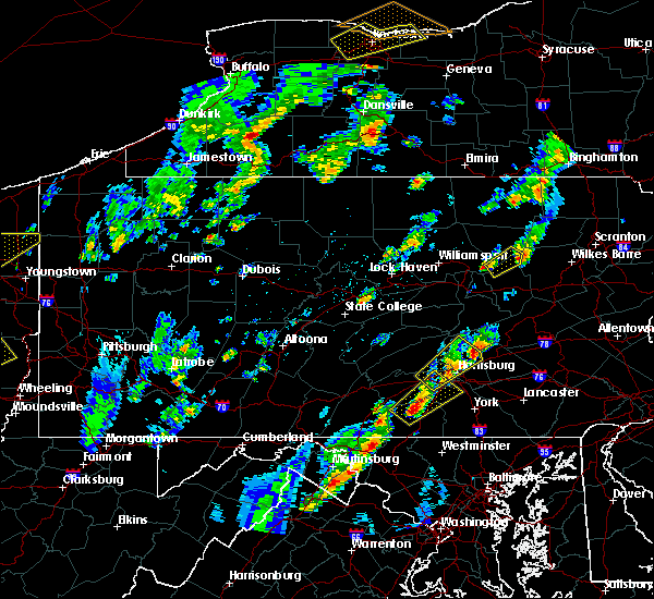 Radar Image for Severe Thunderstorms near Kulpmont, PA at 5/29/2020 2:19 PM EDT