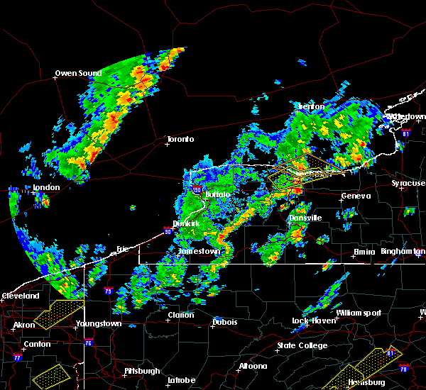 Radar Image for Severe Thunderstorms near Angelica, NY at 5/29/2020 2:25 PM EDT