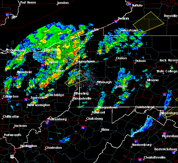 Radar Image for Severe Thunderstorms near East Palestine, OH at 5/29/2020 2:41 PM EDT