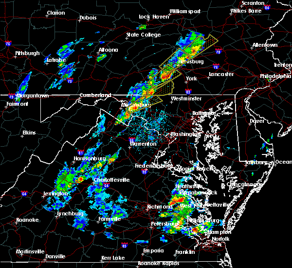 Radar Image for Severe Thunderstorms near Shepherdstown, WV at 5/29/2020 2:43 PM EDT