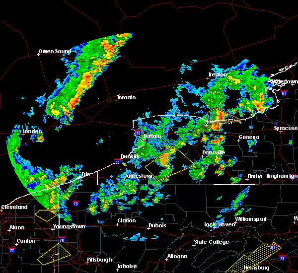 Radar Image for Severe Thunderstorms near Angelica, NY at 5/29/2020 2:44 PM EDT